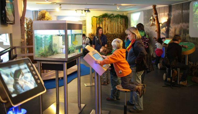 L\'exposition multimédia du Biosphärenhaus en Allemagne