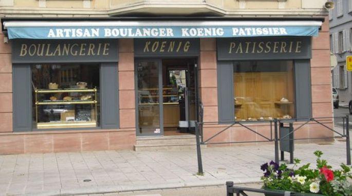 Boulangerie pâtisserie Koenig à Cernay