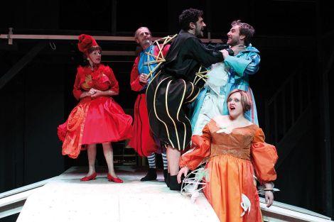 Les comédiens répètent depuis le mois d\'octobre la pièce de Molière