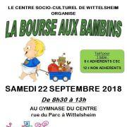 Bourse aux bambins à Wittelsheim 2018