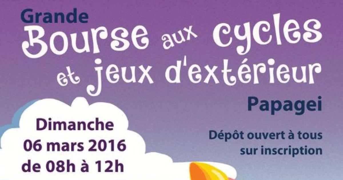 Bourse aux cycles et jeux d 39 ext rieur saverne 2016 for Bourse exterieur