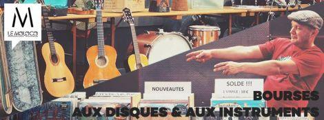Bourse aux disques et aux instruments à Audincourt