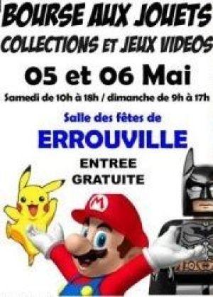 Bourse aux jouets, collections et jeux vidéos à Errouville 2018