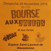 Bourse aux jouets et livres à Wasselonne 2016