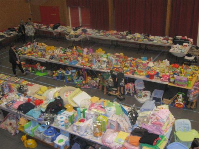 Bourse aux jouets et vêtements d\'enfants à Aspach