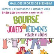 Bourse aux vêtements et jouets d\'occasion enfants et adultes Biesheim