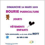 Bourse aux jouets, vêtements enfant et puériculture à Rott 2019