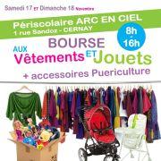 Bourse aux jouets, vêtements et puériculture à Cernay 2018