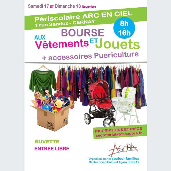 Bourse aux jouets, vêtements et puériculture à Cernay 2018 - Bourse ... fab3dc95486c