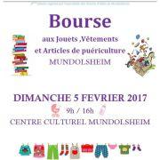 Bourse aux jouets, vêtements et puériculture à Mundolsheim 2018