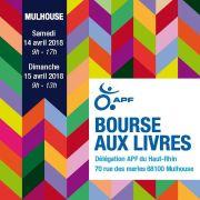 Bourse aux livres à Mulhouse 2018