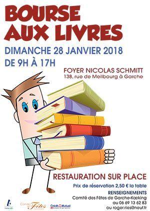 Bourse aux livres à Thionville 2018