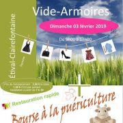 Bourse aux vêtement et puériculture à Étival-Clairefontaine 2019