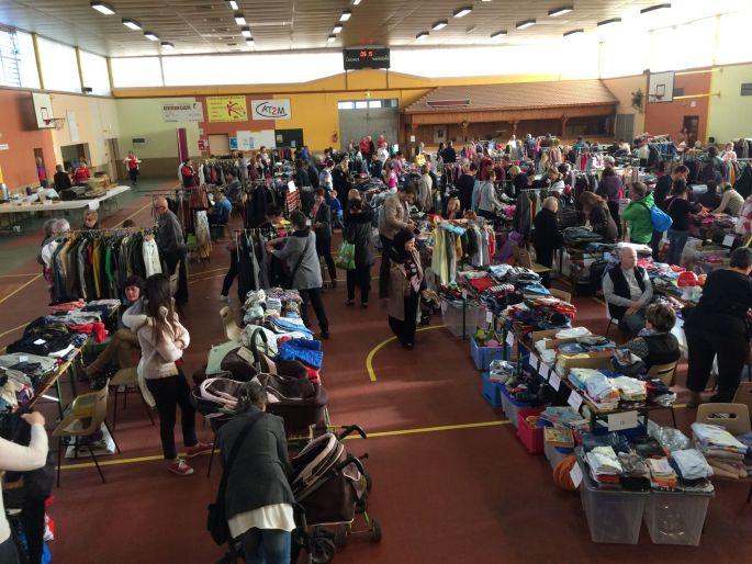 Bourse aux vêtements à Rustenhart 2018