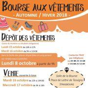Bourse aux vêtements automne-hiver à Strasbourg 2018