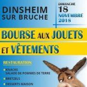 Bourse aux vêtements et jouets à Dinsheim-sur-Bruche 2018