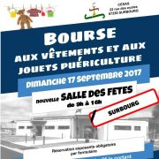 Bourse aux vêtements et jouets puériculture à Surbourg 2018
