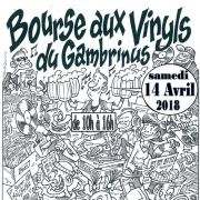 Bourse aux vinyles du Gambrinus