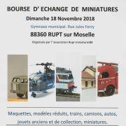 Bourse d\'échange de modelisme et de miniatures