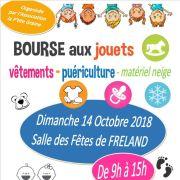 Bourse d\'hiver aux affaires d\'enfant à Fréland 2018