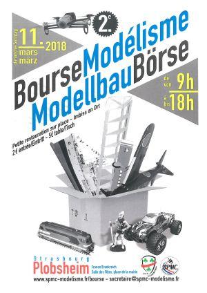 Bourse de Modélisme franco allemande à Plobsheim 2018