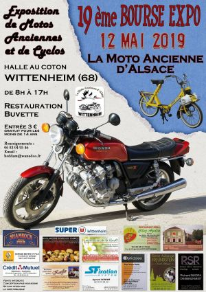 Bourse Expo La Moto Ancienne d\'Alsace à Wittenheim 2019