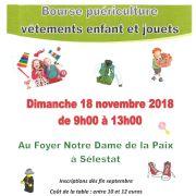 Bourse puériculture, vêtements enfants et jouets à Sélestat