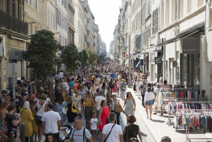 Braderie du centre-ville de Marseille