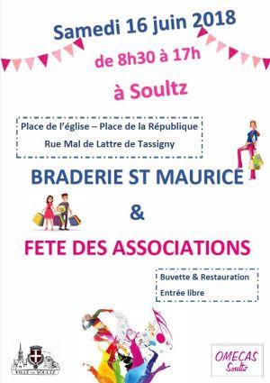 Braderie Saint-Maurice 2018 à Soultz