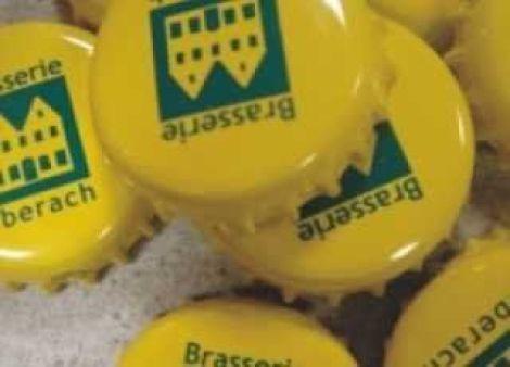 La Brasserie d\'Uberach reconnaissable à ses capsules jaunes
