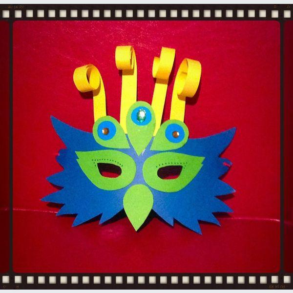 Brico pour enfants masque de carnaval vendenheim - Masque de carnaval a fabriquer ...