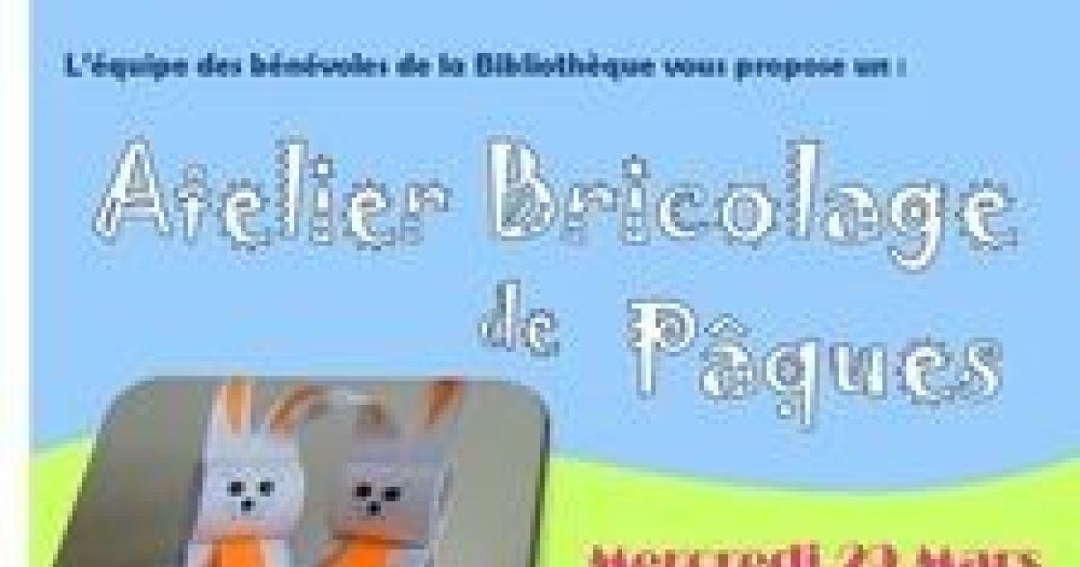 Bricolage De P Ques Lapoutroie Atelier Pour Enfants Biblioth Que Municipale De Lapoutroie