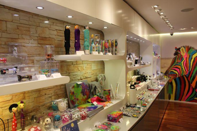 Un boutique colorée, c\'est Brin de Folie à Mulhouse