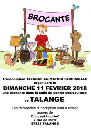 Brocante à Talange 2018