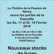 Brocante du Théâtre de la Foucotte à Nancy 2018