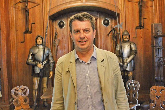 Bruno Caro, nouveau directeur du château du Haut-Koenigsbourg