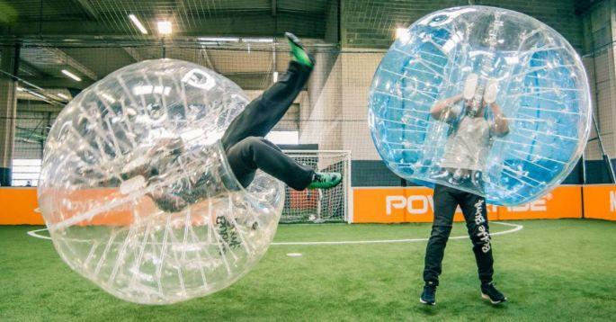Essayer le Bubble Foot