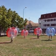 Bubble foot : un loisir gonflé !