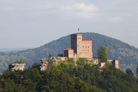 Le Burg Trifels, château en Allemagne