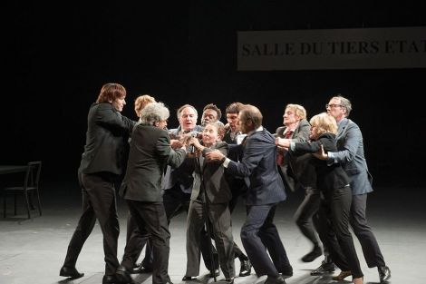 Joël Pommerat met en scène la Révolution française, et plus particulièrement les vifs débats entre les députés