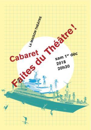 Cabaret de Faites du Théâtre ! Divers-cités 2