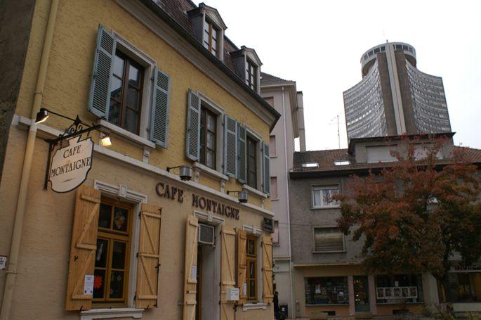 Le Café Montaigne, un des bars les plus connus de Mulhouse