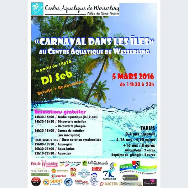 Carnaval fellering 2016 carnaval des les centre for Piscine wesserling