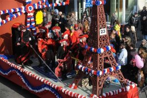 carnaval a hoerdt 2020 : herrefasenacht, cavalcade, carnaval des enfants