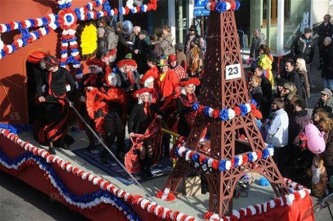 Les chars du Carnaval de Hoerdt!