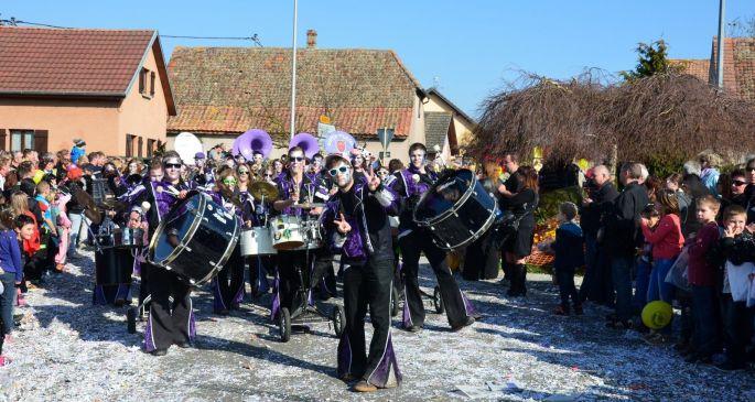 La Cavalcade du Dimanche à Rustenhart avec plus de 1 000 participants