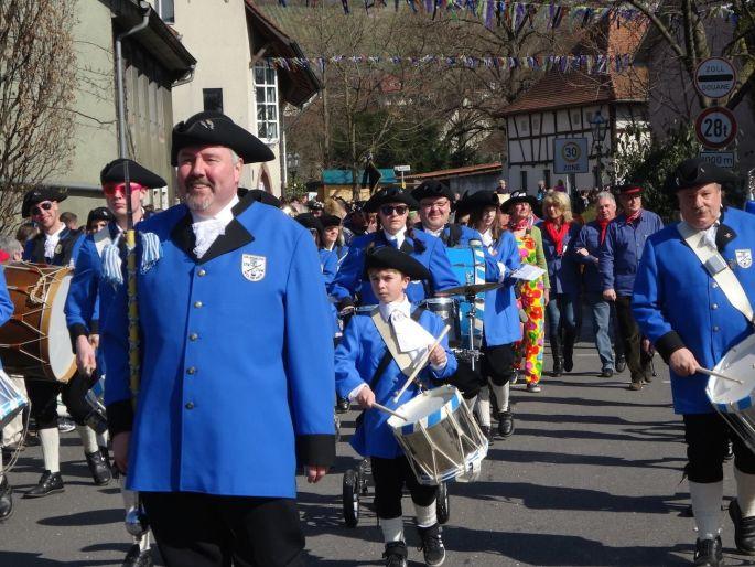 Le défilé de Carnaval de Weil-am-Rhein en Allemagne