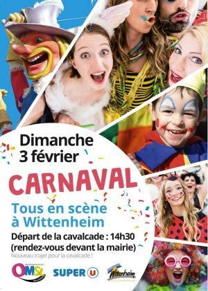 Carnaval à Wittenheim 2019 : Carnaval des familles