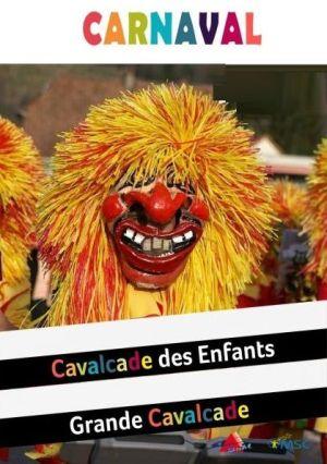 carnaval a buhl : grande cavalcade, carnaval des enfants, election du couple princier...