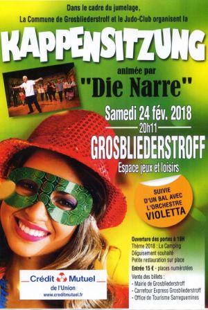 Carnaval de Grosbliederstroff 2018 : Kappensitzung